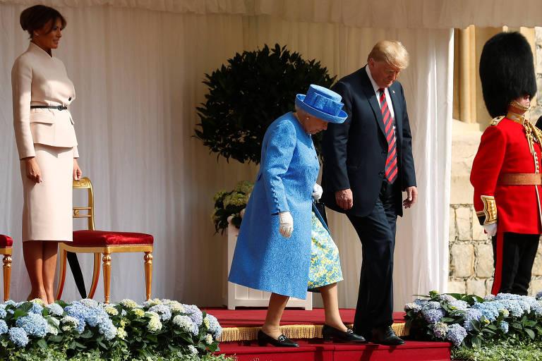 Encontros de presidentes dos EUA com a rainha Elizabeth 2ª