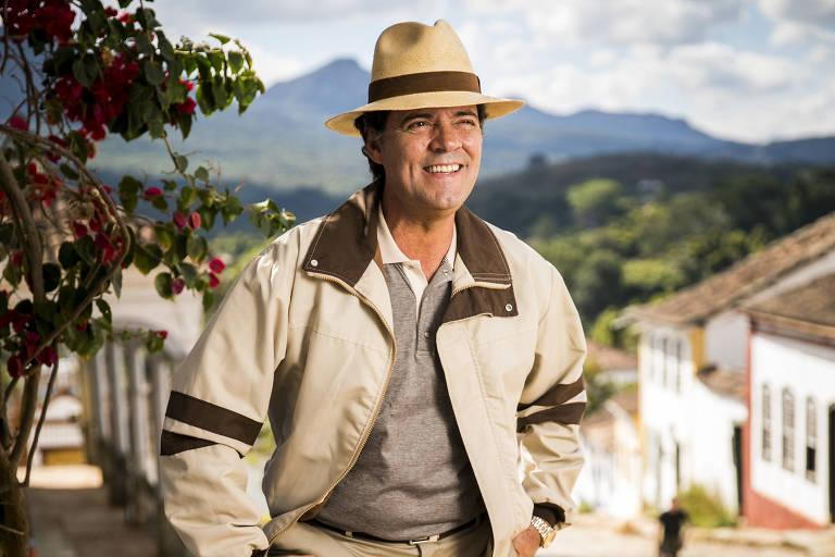 Felipe Camargo como Américo, em Espelho da Vida, próxima novela das seis