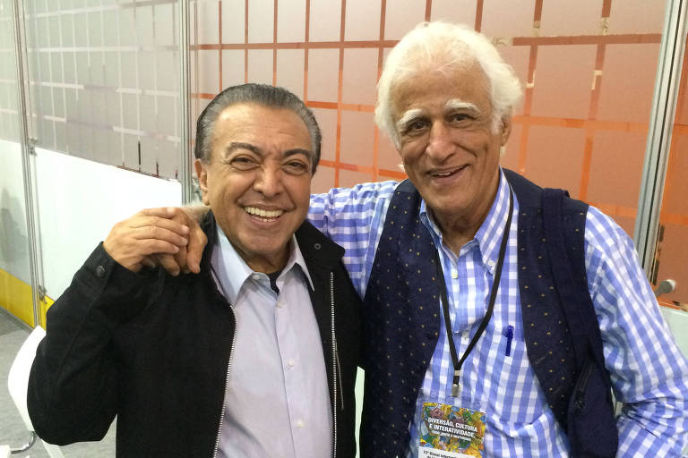 Maurício de Sousa e Ziraldo