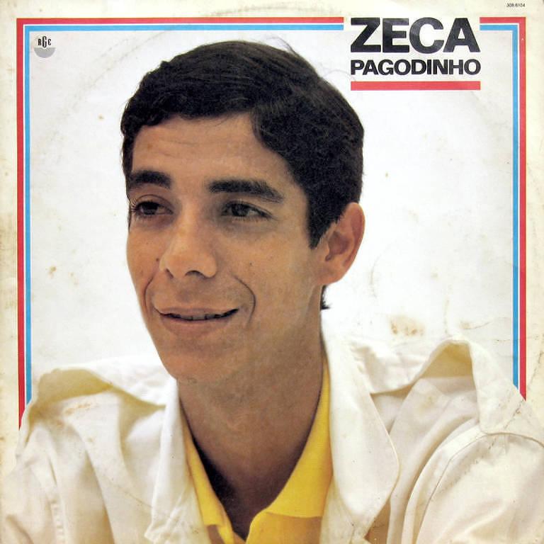 """Capa do disco """"Zeca Pagodinho"""" (1986), estreia do artista"""