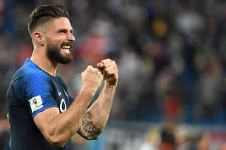 Atacantes de França e Croácia tentam superar seca em finais de Copas 25c9890e4ad1a