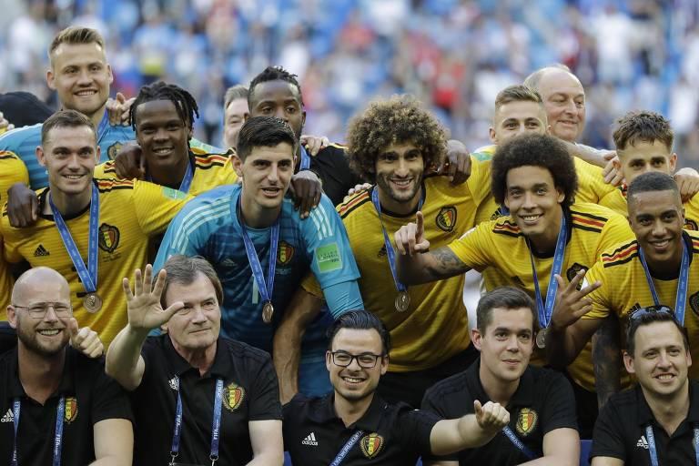 Bélgica x Inglaterra