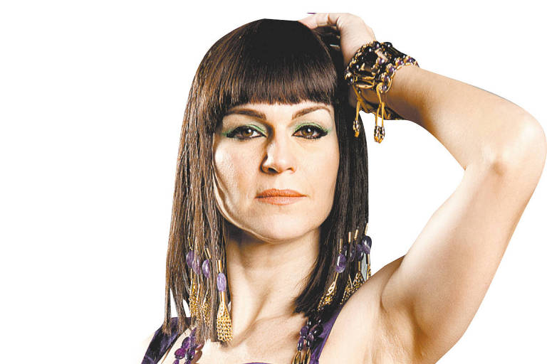 A atriz Adriana Garambone