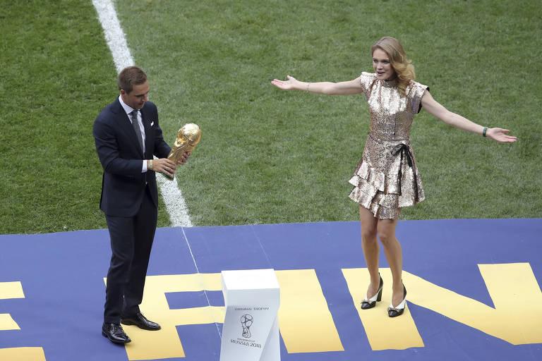 Cerimônia de encerramento da Copa da Rússia