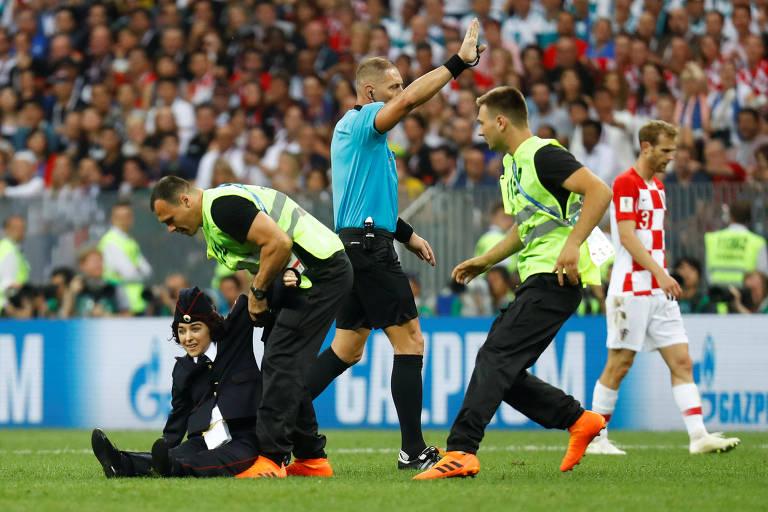 Invasão de campo na final da Copa