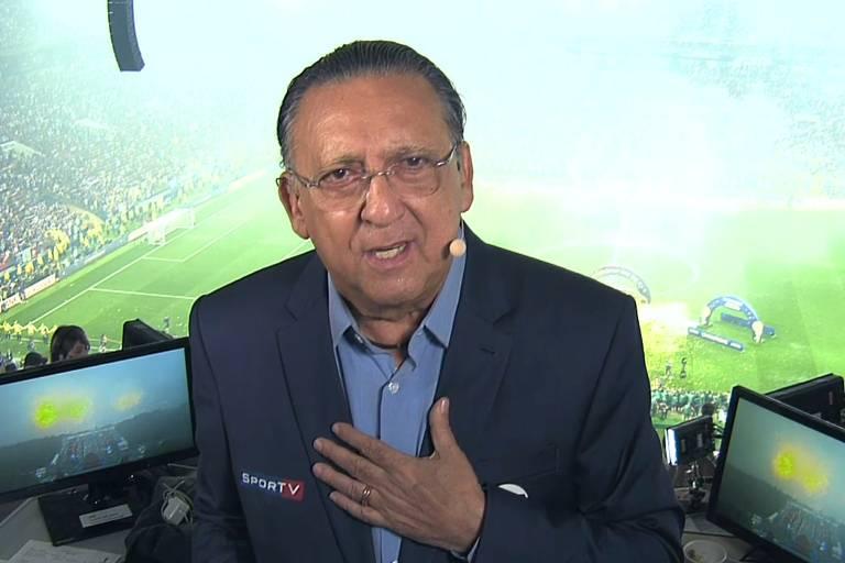 Galvão Bueno diz que Mundial da Rússia é, provavelmente, sua última Copa narrando