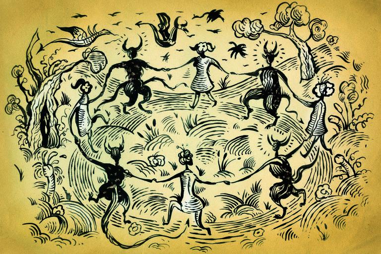 Ilustração para a coluna do Luiz Felipe Pondé