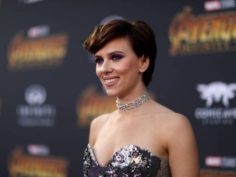 REFILE - CORRECTING TYPO IN NAME  Premiere of ?Avengers: Infinity War? - Arrivals - Los Angeles, California, U.S., 23/04/2018 - Actress Scarlett Johansson. REUTERS/Mario Anzuoni ORG XMIT: LOA562