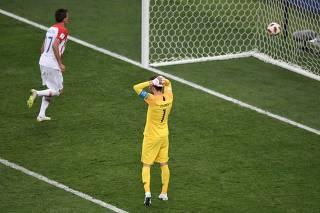 Falha fez goleiro francês perder prêmio que já estava quase garantido