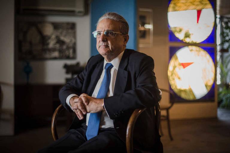 Robson Braga de Andrade, presidente da CNI, em foto de 2015