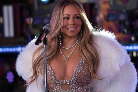 (FILES) In this file photo taken on December 31, 2017 American singer, songwriter, Mariah Carey performs during New Year's Eve celebrations in Times Square in New York. Pop star Mariah Carey revealed in an interview with People magazine in April 2018 that she has struggled in recent years against bipolar disorder, which is now controlled by medication. / AFP PHOTO / DON EMMERT