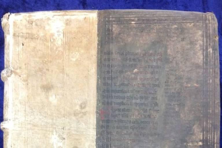 A capa venenosa de um dos livros: pigmento verde era feito a partir de arsênico, uma das substâncias mais tóxicas que existem