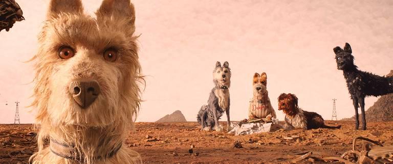 """Cena do filme """"Ilha dos Cachorros"""", de Wes Anderson"""