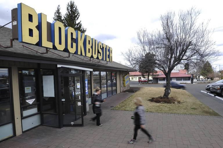 Locadora de vídeos Blockbuster em Bend, Oregon