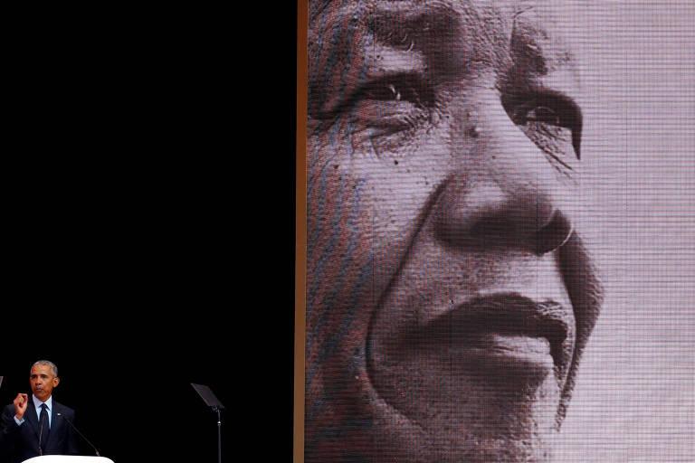 Obama discursa na homenagem pelo centenário de nascimento de Nelson Mandela