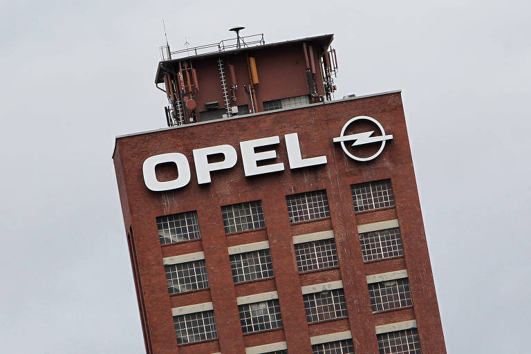 Prédio da montadora Opel na Alemanha