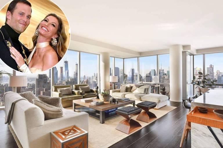 Apartamento de Gisele Bündchen e Tom Brady