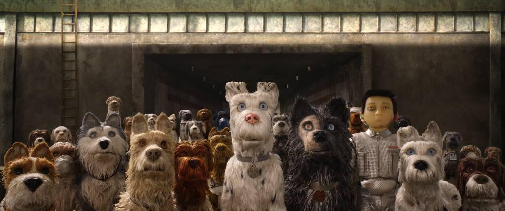 Cena do filme 'Ilha dos cachorros', de Wes Anderson