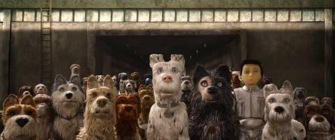 Filme Ilha dos cachorros, de Wes Anderson