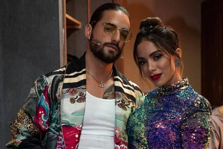 """Anitta e Maluma atuarão como técnicos na próxima temporada do """"The Voice"""" mexicano"""
