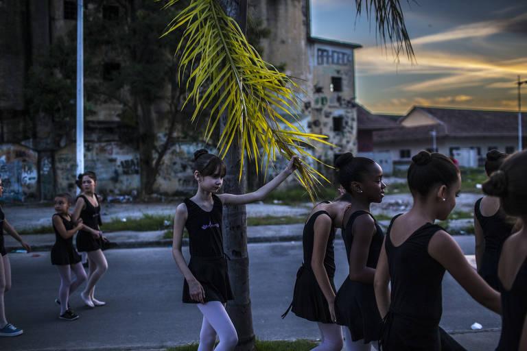 Balé em favela do Rio