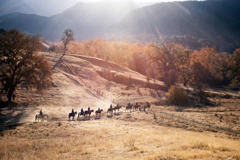 Horseback riding at Alisal Guest Ranch & Resort in California