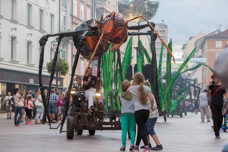 Futura capital europeia da cultura, cidade da Croácia dá início a festivais