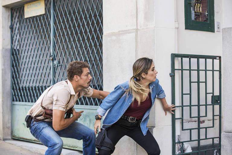 'Uma Quase Dupla' une experiência dramática de Cauã Reymond ao humor de Tatá Werneck