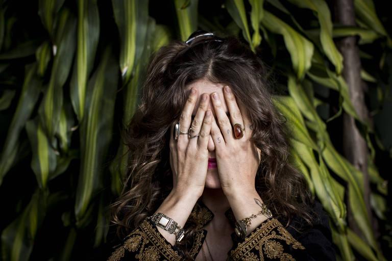 A cantora Ana Cañas, que revelou ter sofrido assédio na adolescência