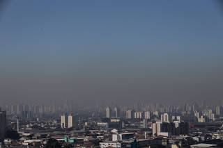 Vista geral da cidade de São Paulo