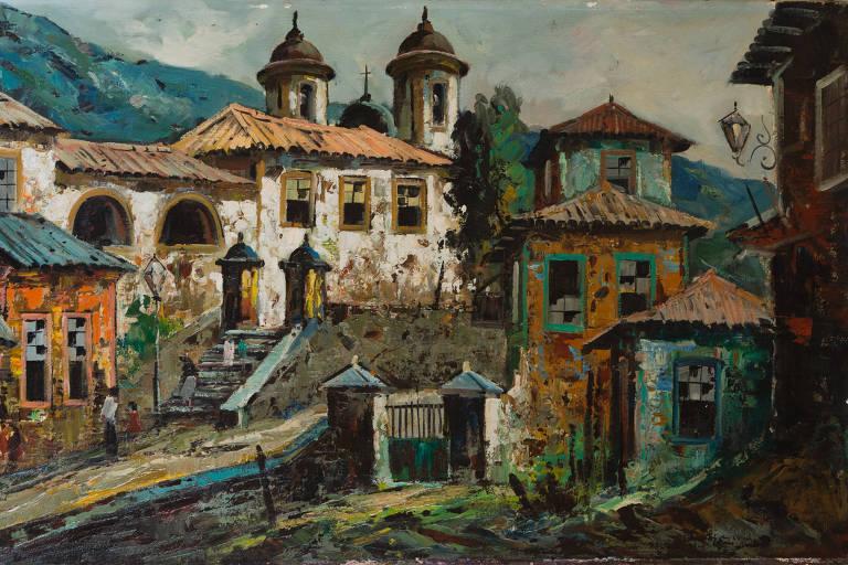 'Casariozero', sem data identificada, do artista plástico Durval Pereira