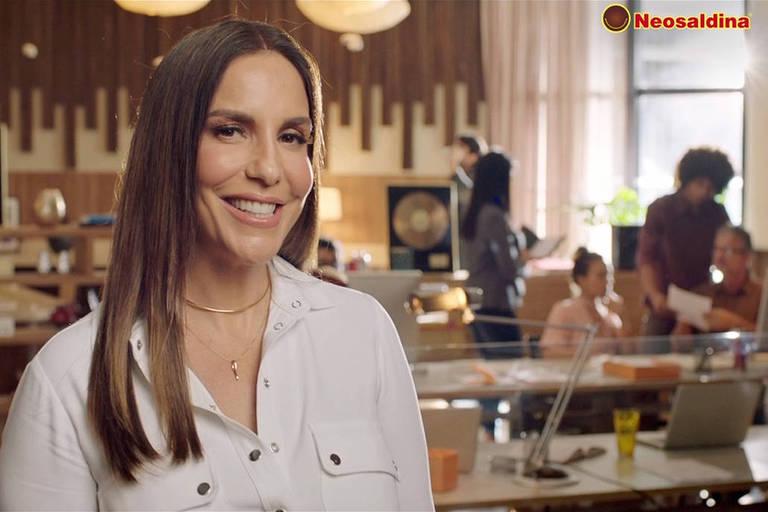 A Neosaldina anunciou a Ivete Sangalo como sua nova garota propaganda