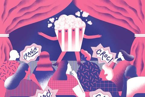 Capa do Guia 20/07/2018 sobre comida em teatro