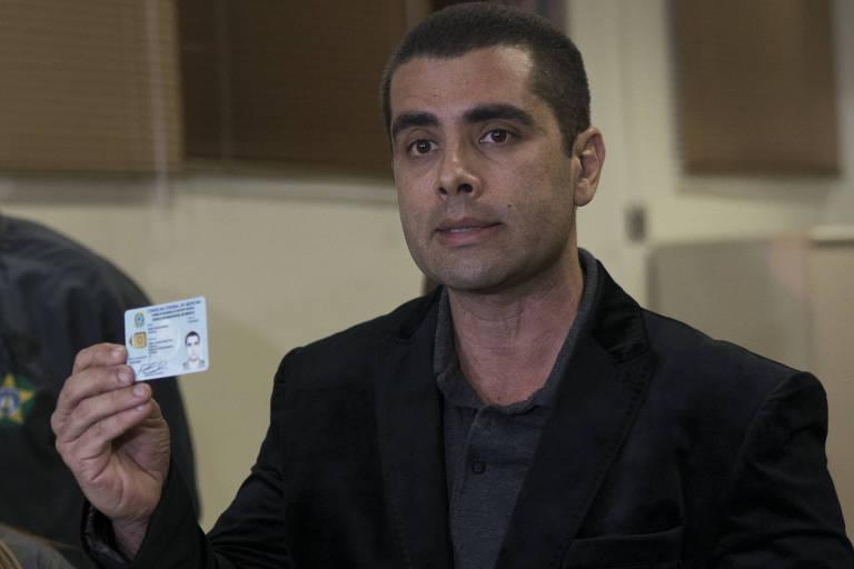 O médico Denis Cesar Barros Furtado, conhecido como 'Dr. Bumbum', após ser preso no Rio