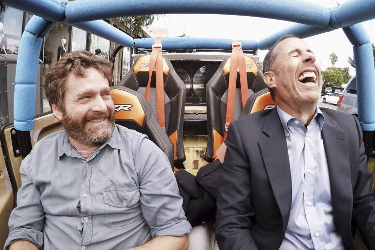 Zach Galifianakis, Jerry Seinfeld