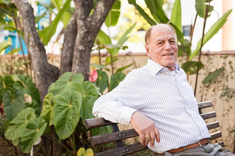 O corretor José Morais, 79, que viu seu plano de saúde aumentar de R$ 2.572 para R$ 6.670 em cinco anos