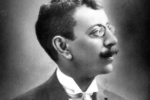 ORG XMIT: 391401_0.tif O escritor Olavo Bilac (1865-1918). (Reprodução)