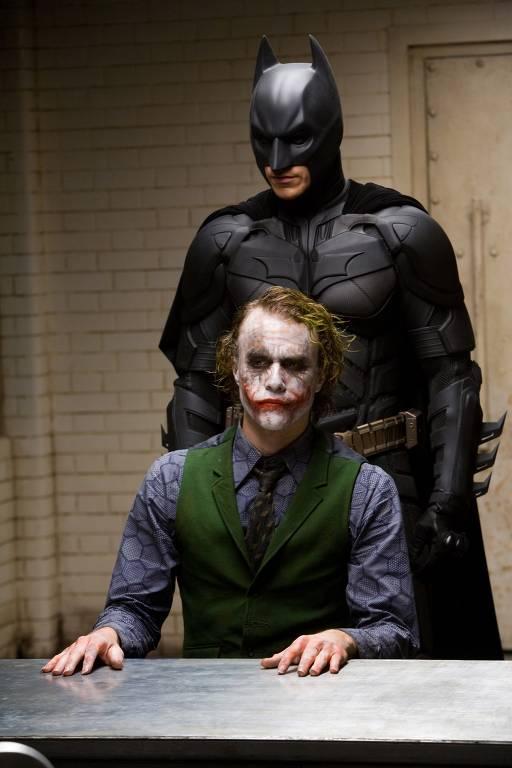 Christian Bale como 'Batman - O Cavaleiro das Trevas'