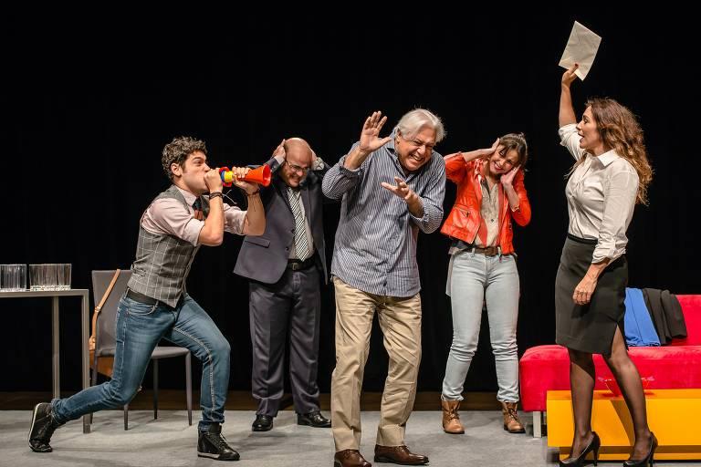 Espetáculo 'Baixa Terapia' com Antonio Fagundes