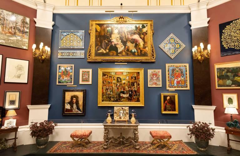 Exposição no Palácio de Buckingham