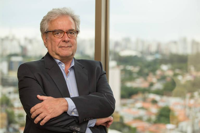 Retrato de José Francisco de Lima Gonçalves, economista-chefe do banco Fator
