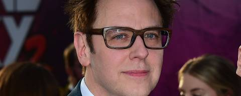 (FILES) In this file photo taken on April 19, 2017, writer and director James Gunn arrives for the world premiere of the film