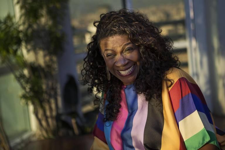 A atriz Zezé Motta participa de show em homenagem a Elizeth Cardoso