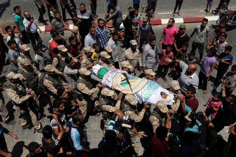 Israel ataca Gaza após morte de soldado