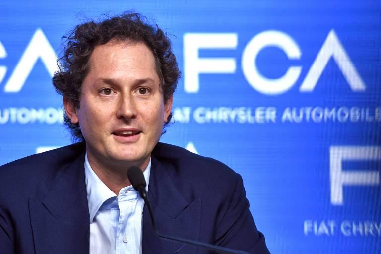 John Elkann, que assume a presidência da Ferrari no lugar de Sergio Marchionne