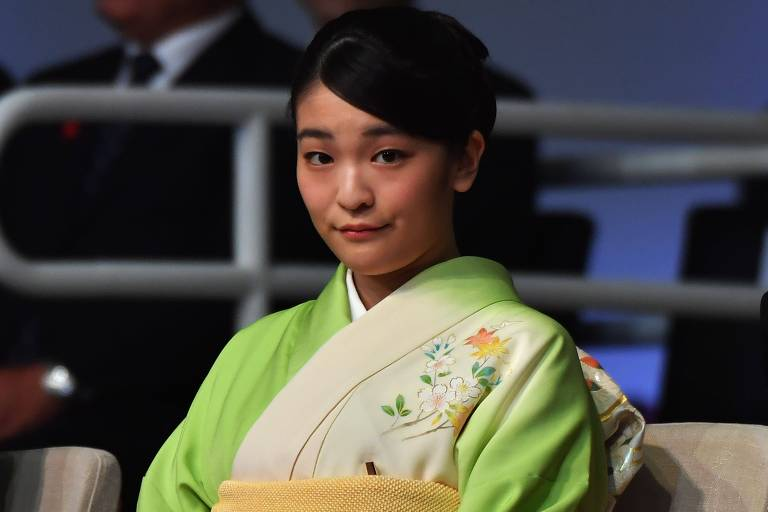 Princesa Mako, do Japão, visita o Brasil