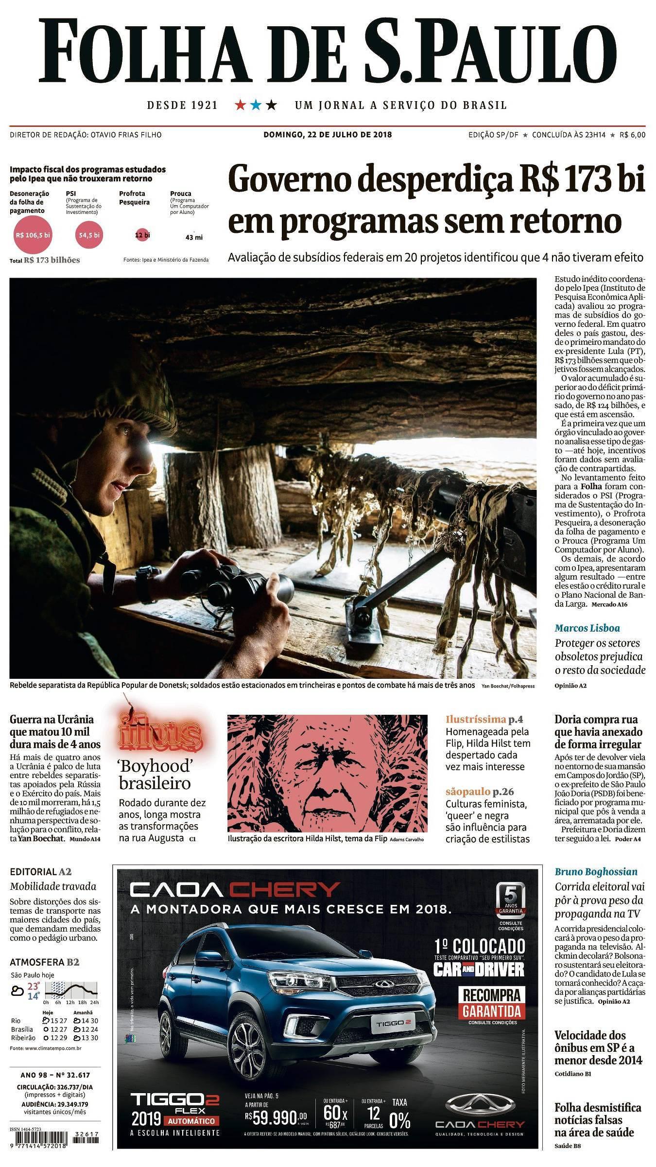 Folha de S.Paulo  Notícias, Imagens, Vídeos e Entrevistas 3bb9506e9e