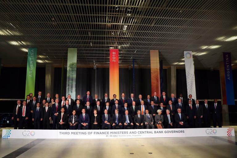 foto oficial de ministros