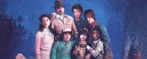 Com um ótimo elenco de jovens atores, 'Stranger Things' é um dos shows mais populares do catálogo do Netflix