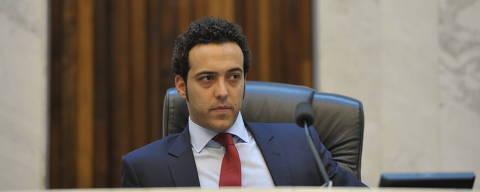 CURITIBA, PARANA, 02/04/2014 - Assembleia Legislativa do Paraná-   Sessão plenária  Bernardo Carli (PSDB). Foto: Sandro Nascimento/Alep